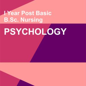 P.C. BSC Nursing Psychology Notes