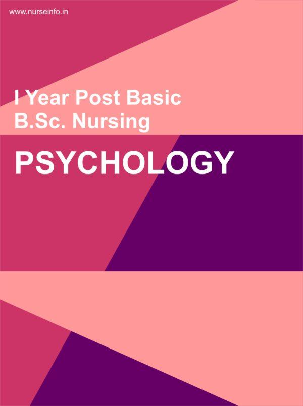 P.C. BSC Nursing Psychology Notes