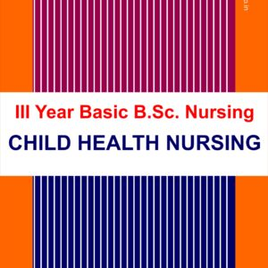 Child Health Nursing BSC Nursing Third Year