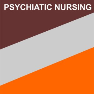 I YEAR MSC NURSING (MENTAL HEALTH NURSING) PSYCHIATRIC