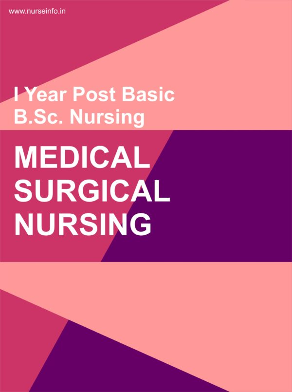 MEDICAL SURGICAL NURSING NOTES