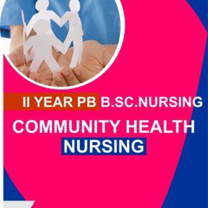community health nursing for pb bsc nursing students notes