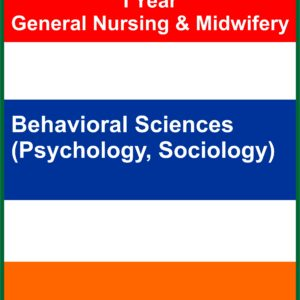 I YEAR GNM PSYCHOLOGY AND SOCIOLOGY