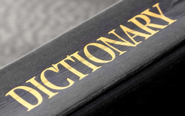 dictionary medical black
