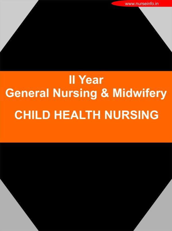 gnm second year nursing child health nursing notes pdf