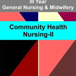 community health nursing II for third year gnm notes