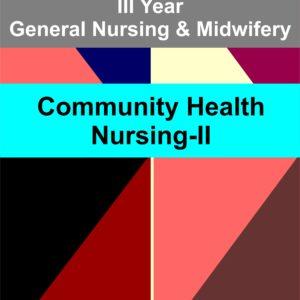 community health nursing II for third year gnm notes