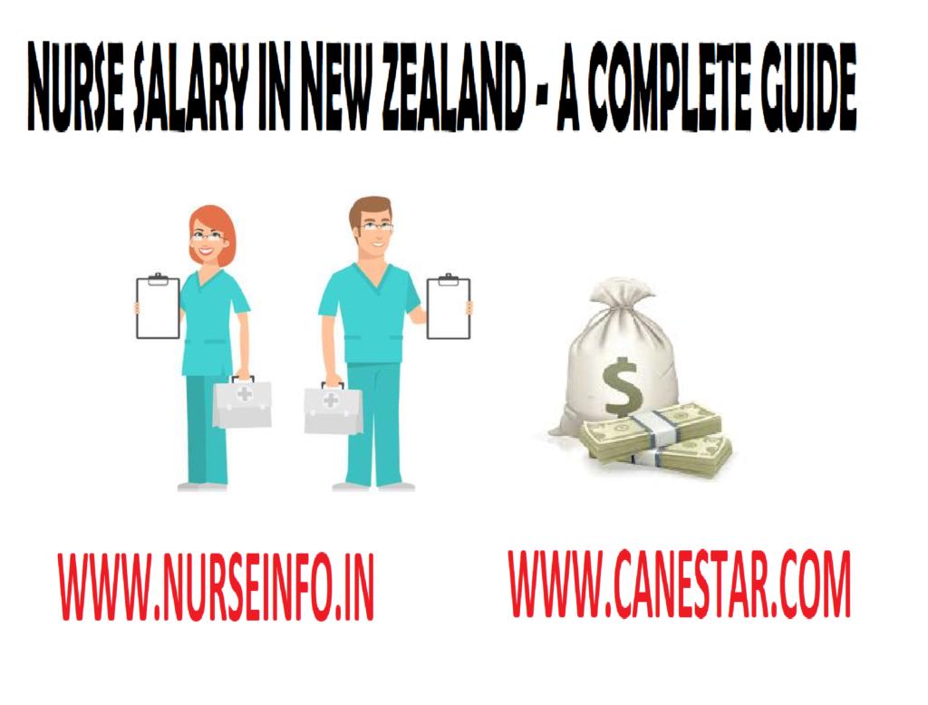 NEW ZEALAND – Nurses Recent Salary Guide as per Grade