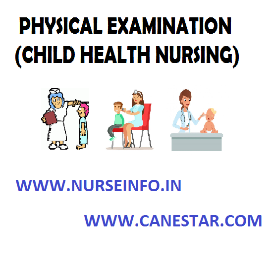 PHYSICAL EXAMINATION – Purpose of Physical Examination, Techniques of Physical Examination, Guidelines of Physical Examination, Equipment Needed and Measuring of Vital Signs in Children (CHILD HEALTH NURSING)