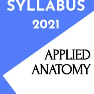 Applied Anatomy Notes/Book (PDF)